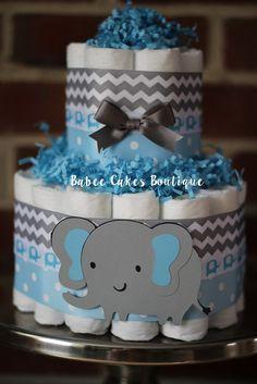 /tarta de pa/ñales para beb/é regalo Babyshower Baby Boy elefante/