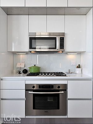 Gas Cook Top And Separate Wall Oven Love The Look This Is Kind Of What Chris And I Were Thinking Of Doing To Kitchen Kitchen Remodel White Modern Kitchen