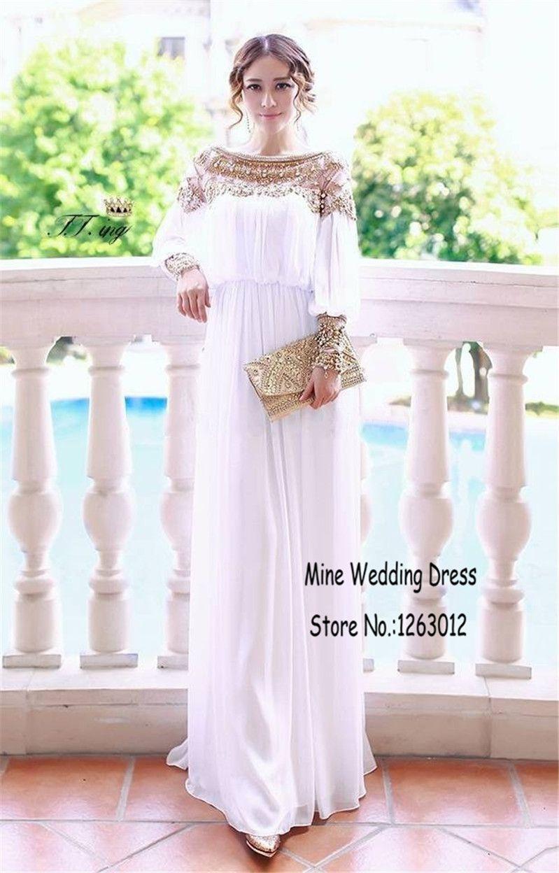 9490f2cd77572 Gold Perlen Strass Long Sleeves Dubai Arabisch Nahen Osten ...
