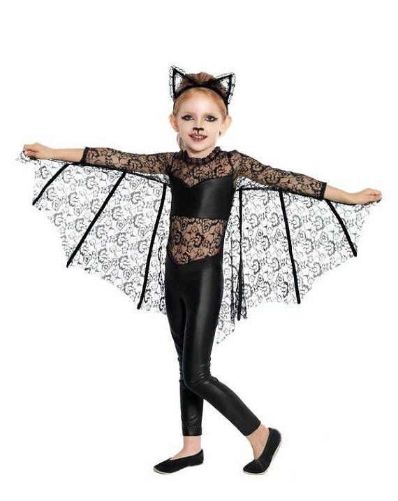 girls bat costume handmade childrens costume photo prop