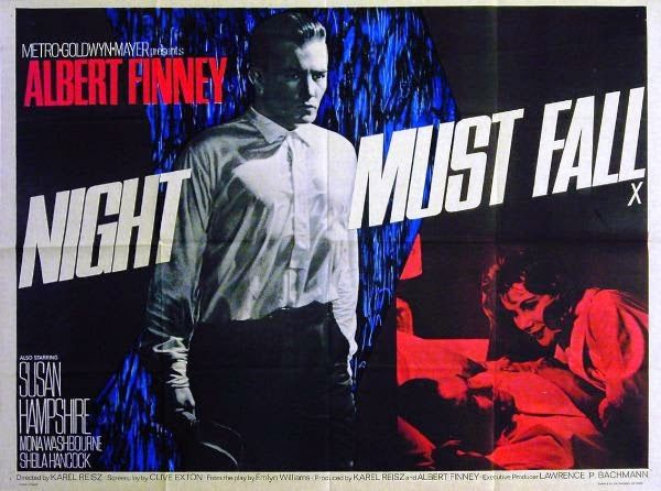 Movie Ramble: Night Must Fall 1964.