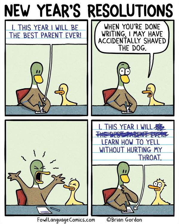 New Year S Resolution Favourite Funny Pinterest Fowl