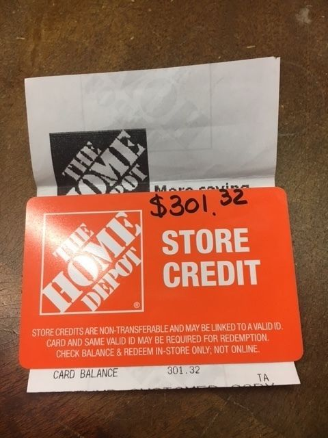 Home Depot Store Credit Balance : depot, store, credit, balance, Coupons, #GiftCards, 1.32, Depot, Store, Credit, #Coupons, Store,, Card,, Cards