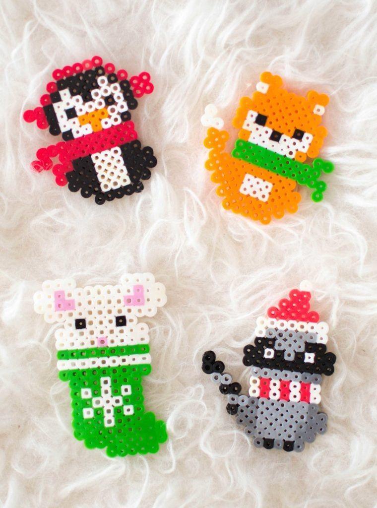 Christmas Perler Bead Patterns Basteln Bugelperlen Bugelperlen