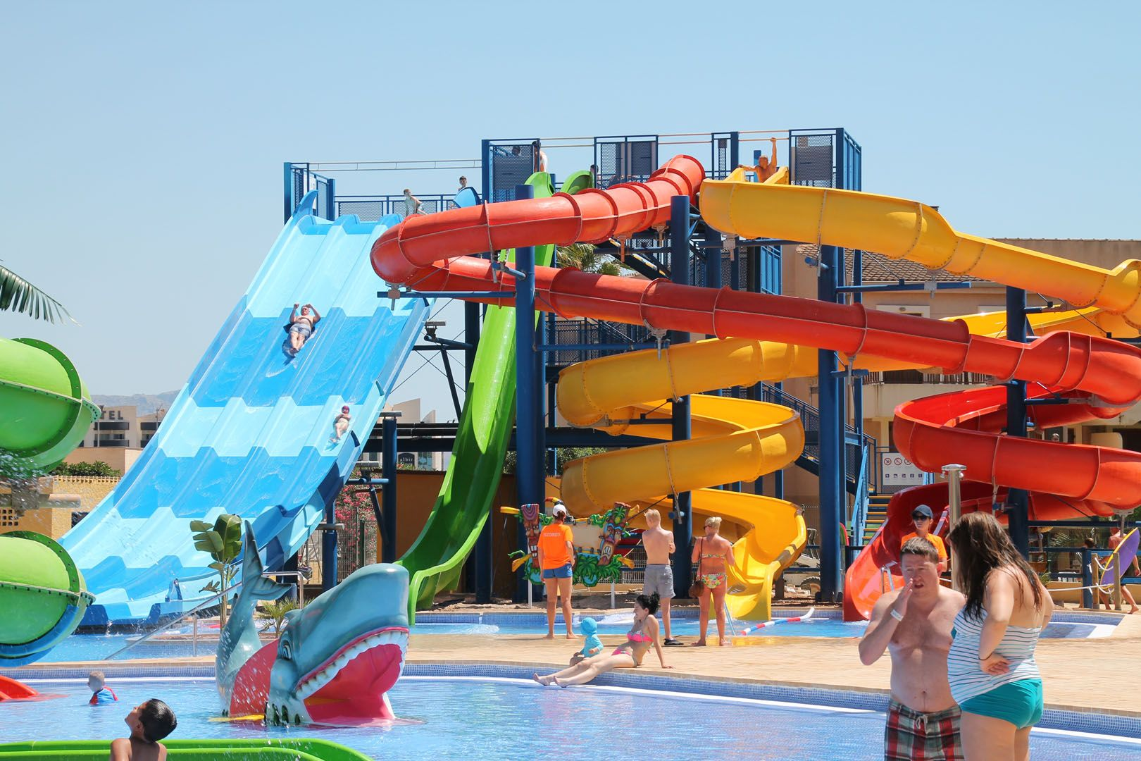 Swimmingpools Outdoorpools Children Spools Waterslides Holidays Summer Toboganes De Agua Toboganes Parque Acuatico