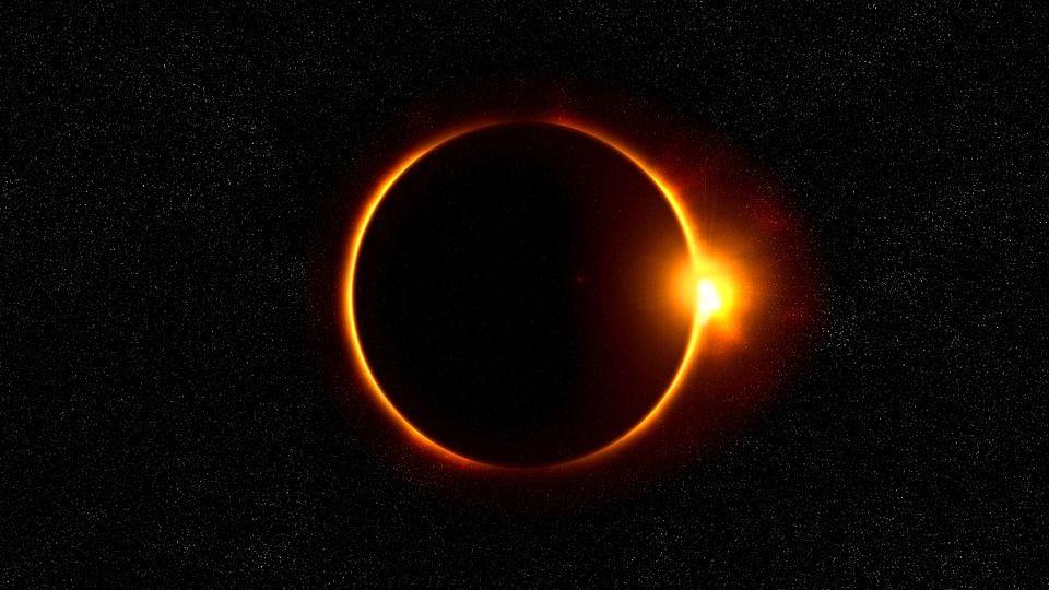 eclipse with mercury   Free photo: Solar Eclipse, Sun, Flare, Solar - Free Image on Pixabay ...
