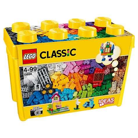 Buy LEGO Classic Large Creative Brick Box Online at johnlewis.com ...