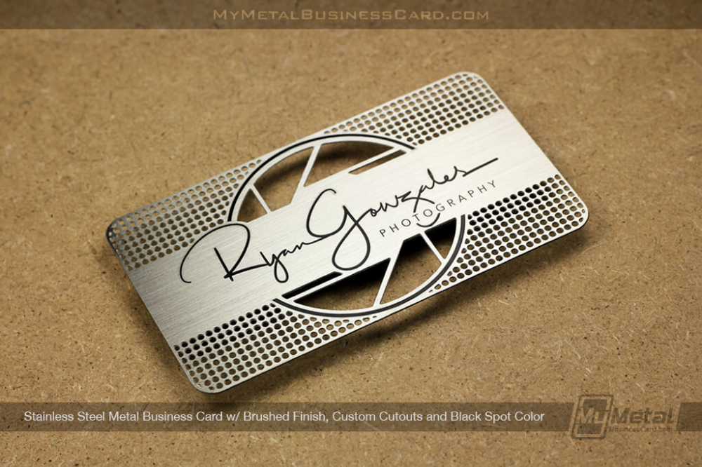 Stainless Steel Cards World Leader In Metal Business Cards Metal Business Cards Steel Cards Business Cards