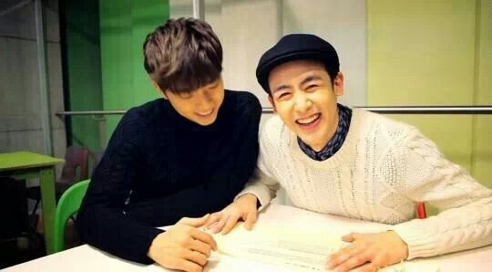 2PM - WOOYOUNG AND NICHKHUN