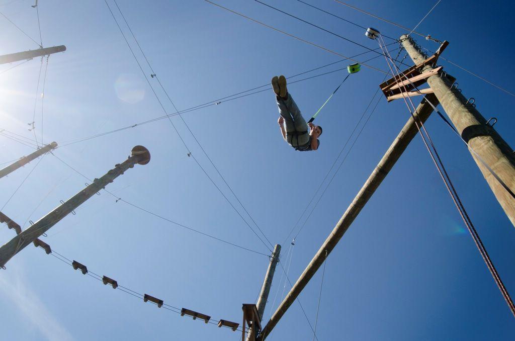 Free Fall Experience Quickjump Free Fall Device Free Falling Ziplining Innovation Technology