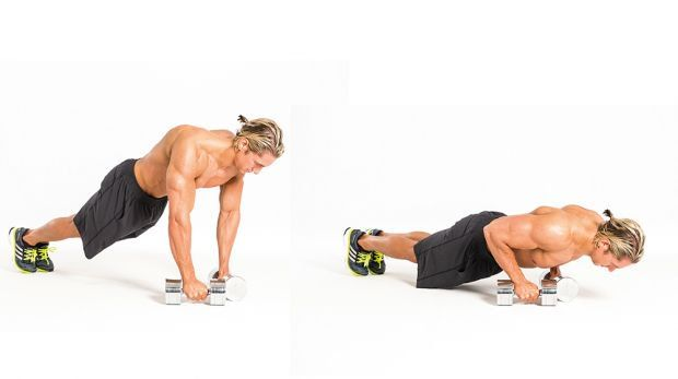 The 4-Week Dumbbell Workout Plan Part 2: Arms #dumbbellworkout