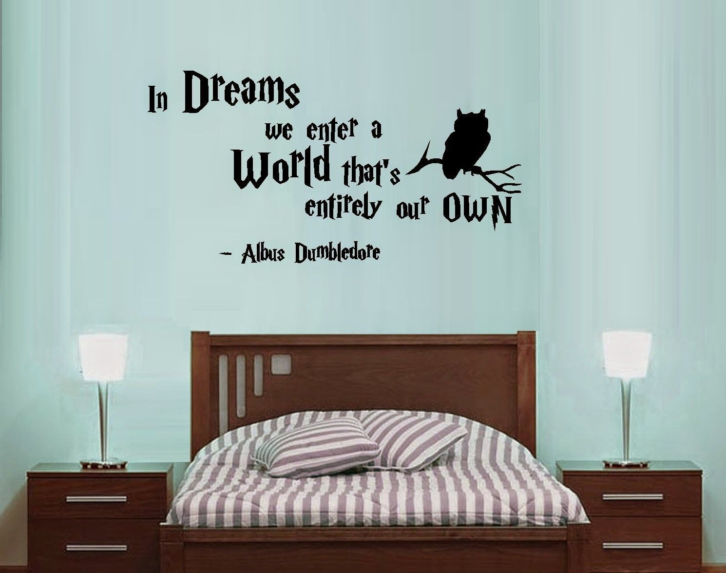 Letras para decorar un dormitorio inspiradas en Harry Potter : harry potter quote wall decals - www.pureclipart.com
