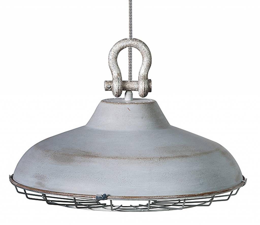 Idee lampen boven de eettafel -Ronde hanglampen met industriele ...