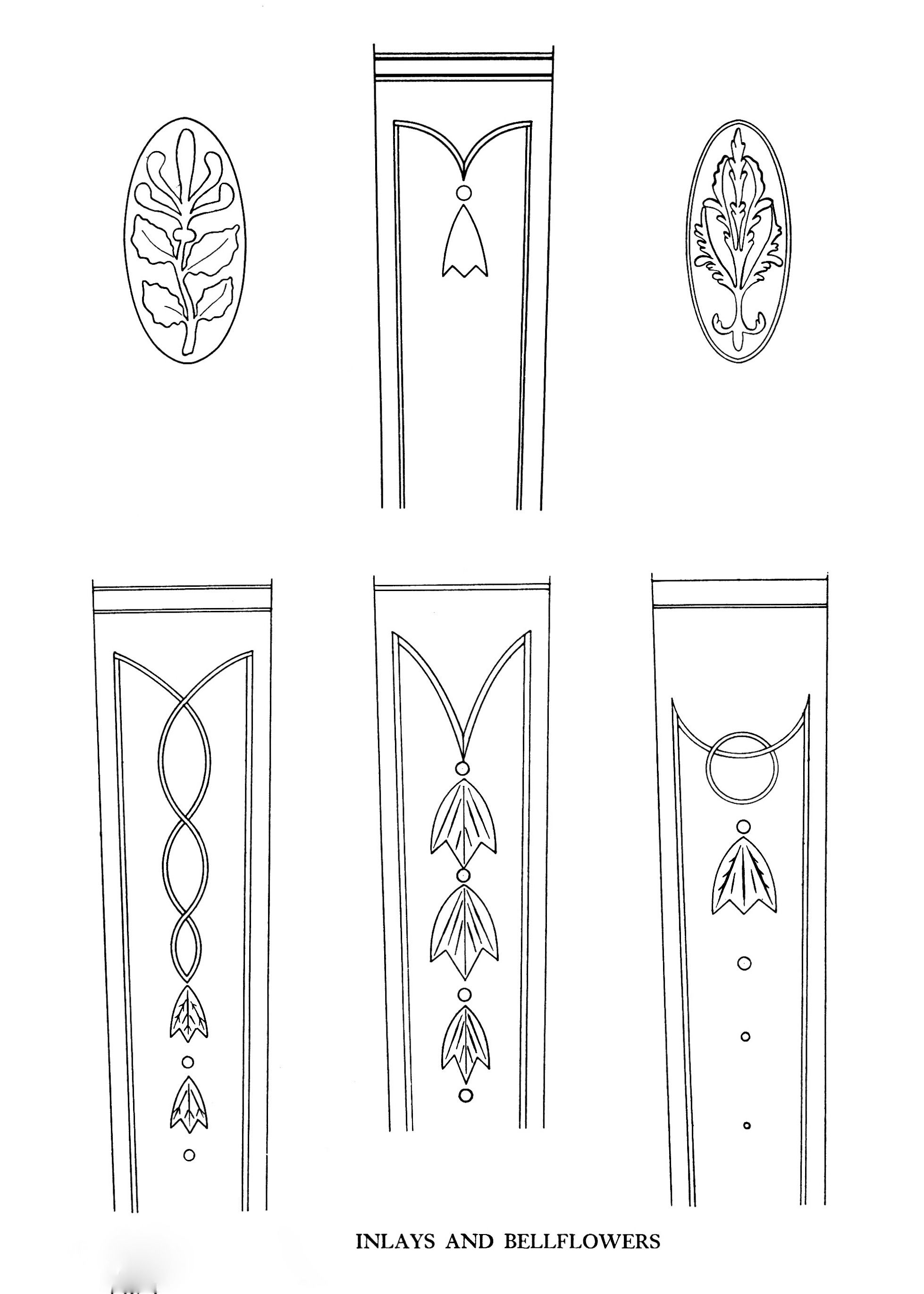 Inlays And Bellflowers