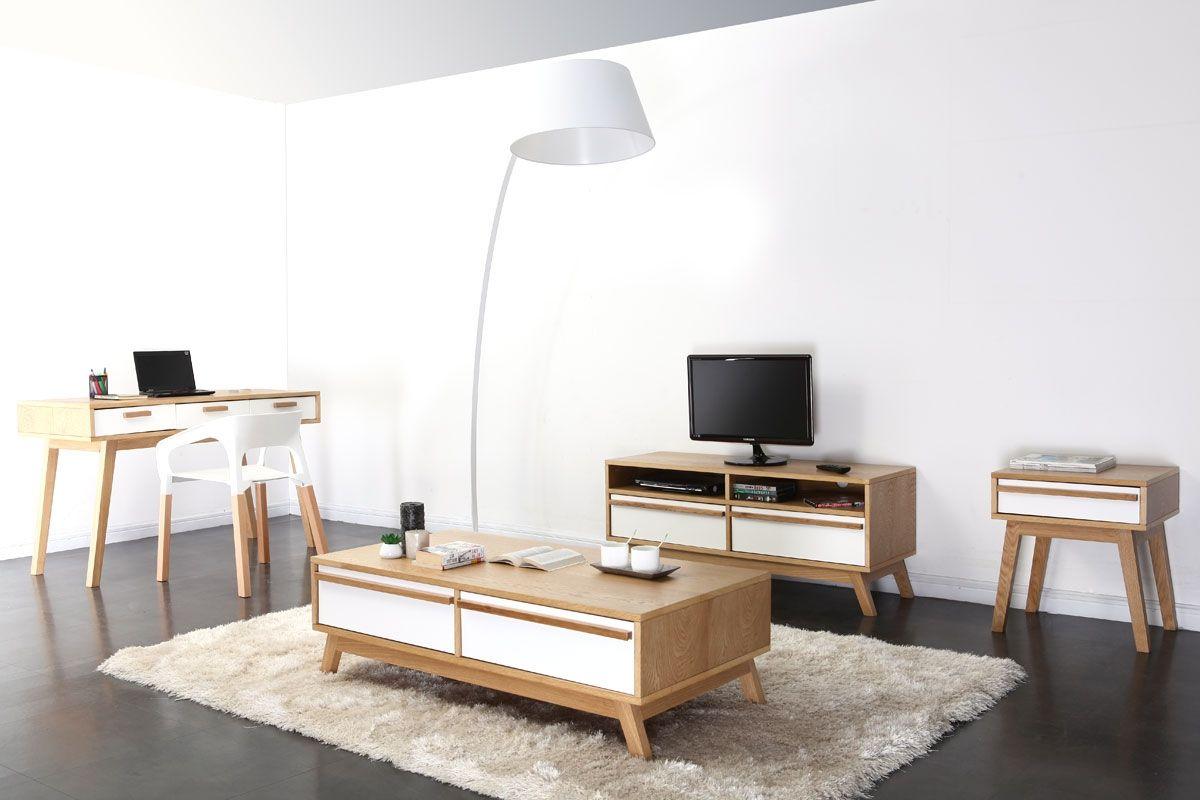 Bureau design scandinave Helia dans un intérieur contemporain | Déco ...