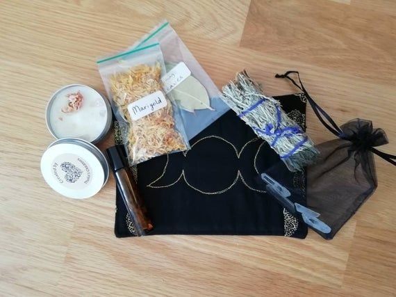 New Moon Ritual Kit #newmoonritual