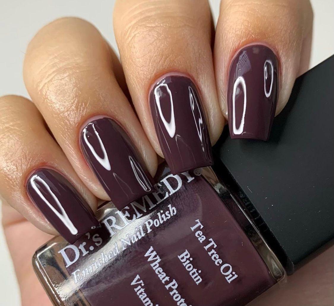 Pin On Fall Nails