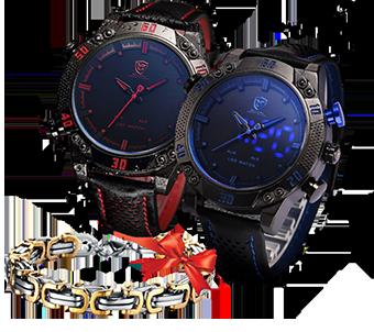 ЧАСЫ Shark Sport это практичные и многофункциональные часы, разработанные в Италии специально для деятельных и активных людей. Они произведены по эксклюзивной технологии, которая обеспечивает их особую прочность, ударостойкость и влагонипроницаемость. 2 варианта стильной расцветки: красные и синие; Кожаный браслет не натирает и не вызывает неудобства; Задняя крышка из нержавеющей стали;
