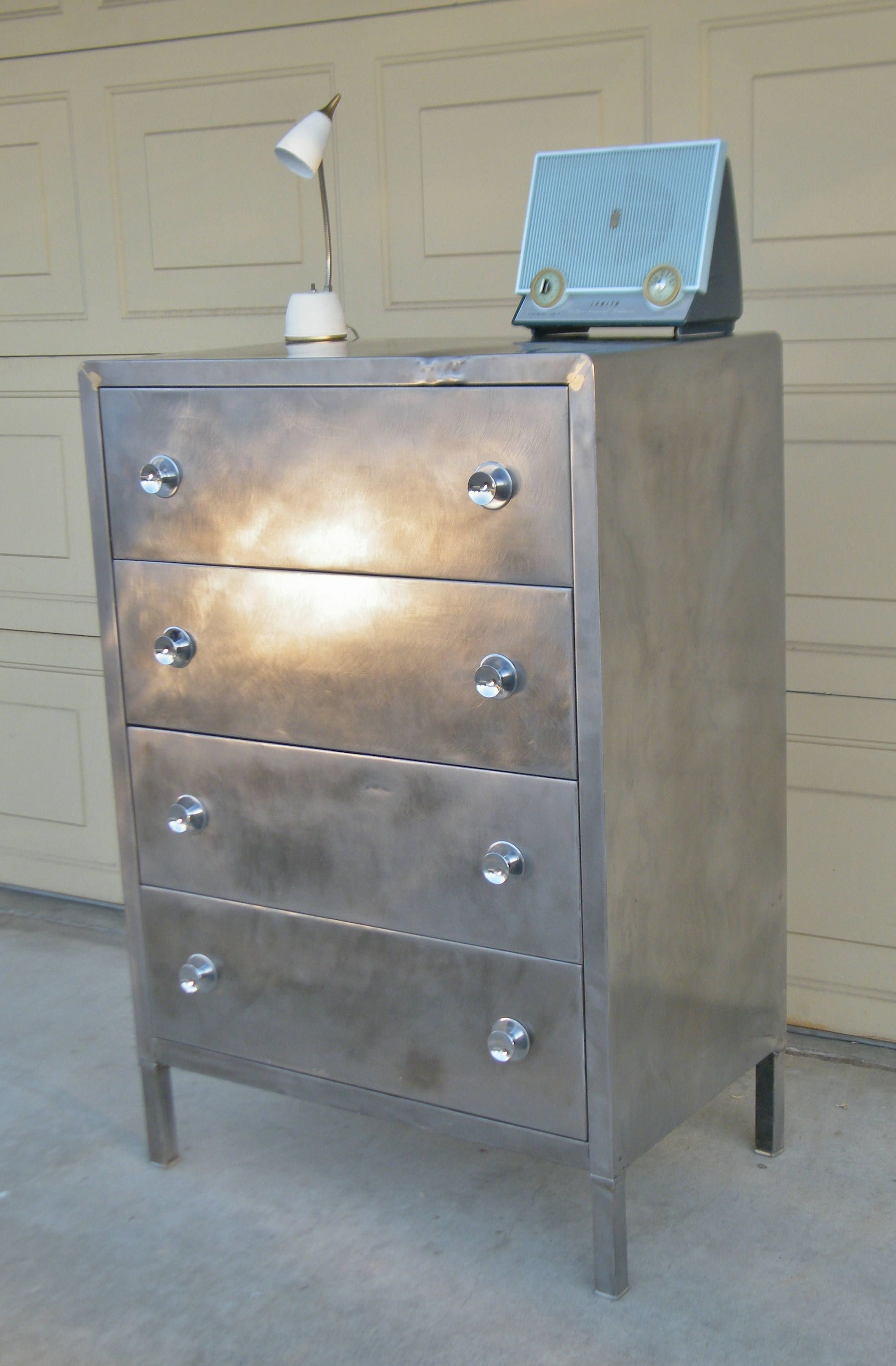 Vintage Simmons Metal Dresser Polished Metal Dresser By 15degrees On Etsy Things To Sell Sell On Etsy Dresser