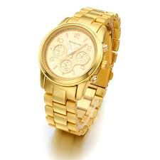 Image result for very beautiful analog mens golden watches