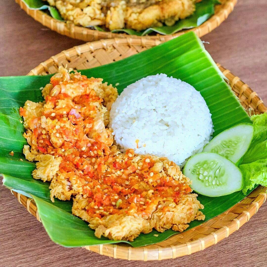 Ayam Geprek Makanan Dan Minuman Resep Sederhana Memasak