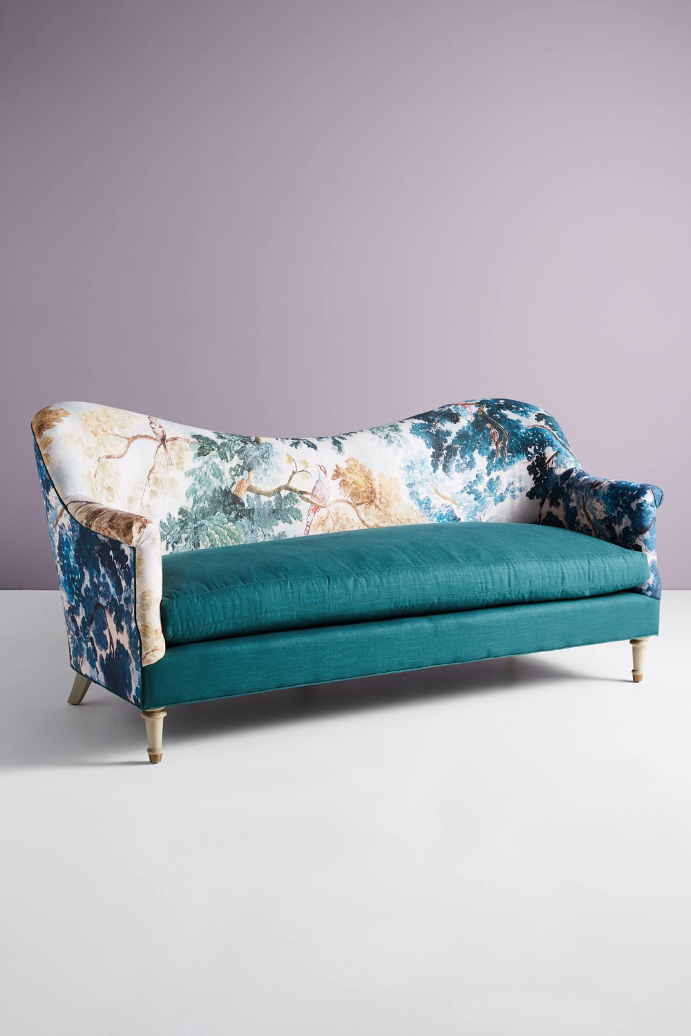 Pied-A-Terre Sofa, Judarn By Anthropologie In Blue Size