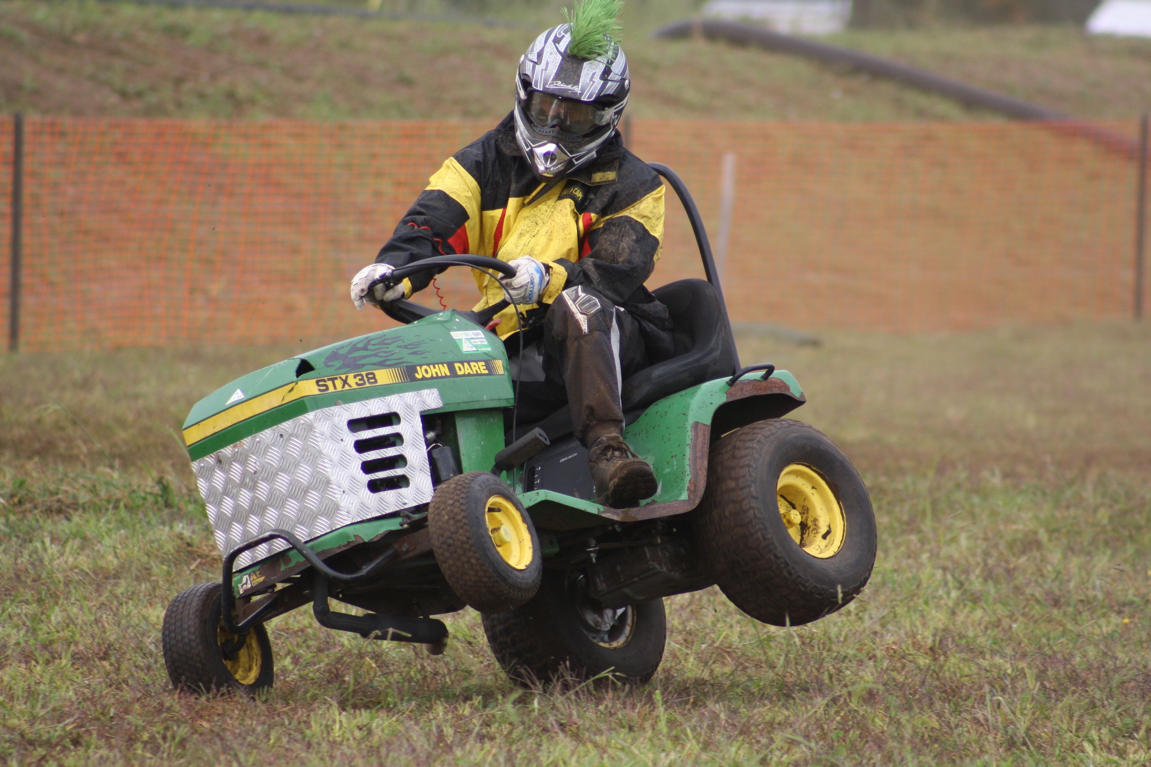 Lawn Mower Racing >> Lawn Mower Racing At Whitianga Nz Lawn Mower Old