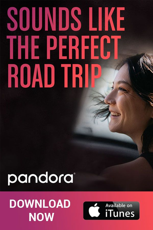 With the Pandora app, you can take your music with you