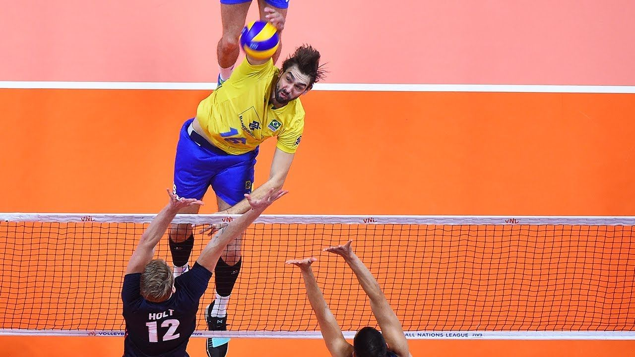 Top 10 Bests Volleyball Spikes By Lucas Saatkamp 2018 World Championship World Championship Sports Highlights Volleyball