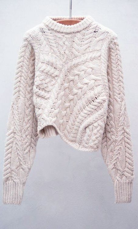 Image Result For White And Grey Chunky Chevron Knit Sweater Closet