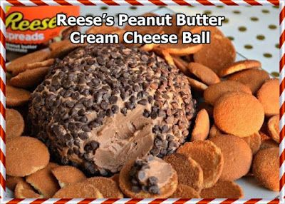WWW.COOKINGCLUB.GP: Reese's Peanut Butter Cream Cheese Ball