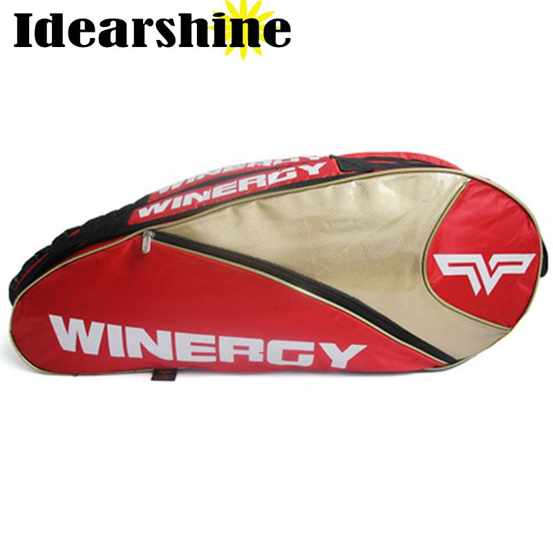Sale Head Tennis Bag Brand New Hot Sell Tennis Bag Racket Union New Sport Bag Large Capacity 6 Head Tennis Racket