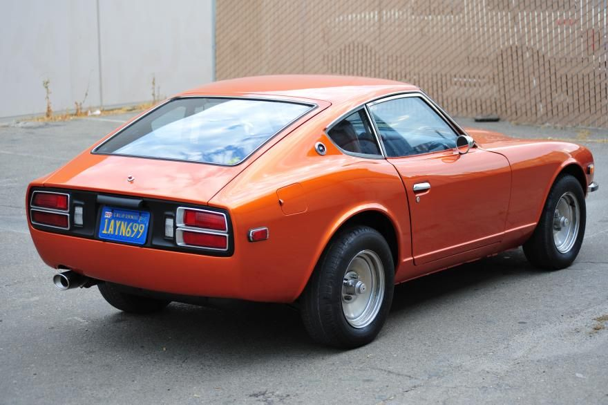 Datsun 280Z 1976 Orange | cars that make me happy | Pinterest | Cars