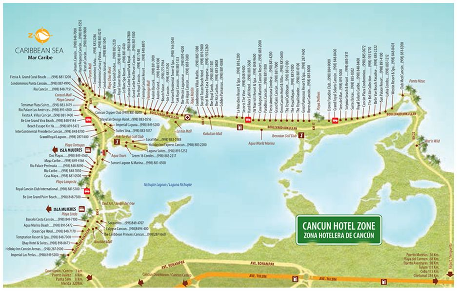 Pin By Shirley Howell On Cancun Vaca Pinterest Cancun - Cancun hotel zone map
