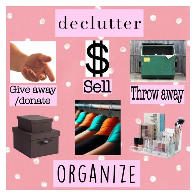 """Declutter & Organize"" by lov3lyfashion on Polyvore featuring interior, interiors, interior design, thuis, home decor, interior decorating, organize en declutter"