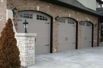 Steel Stamp Carriage House Doors Chicago Orland Park Illinois