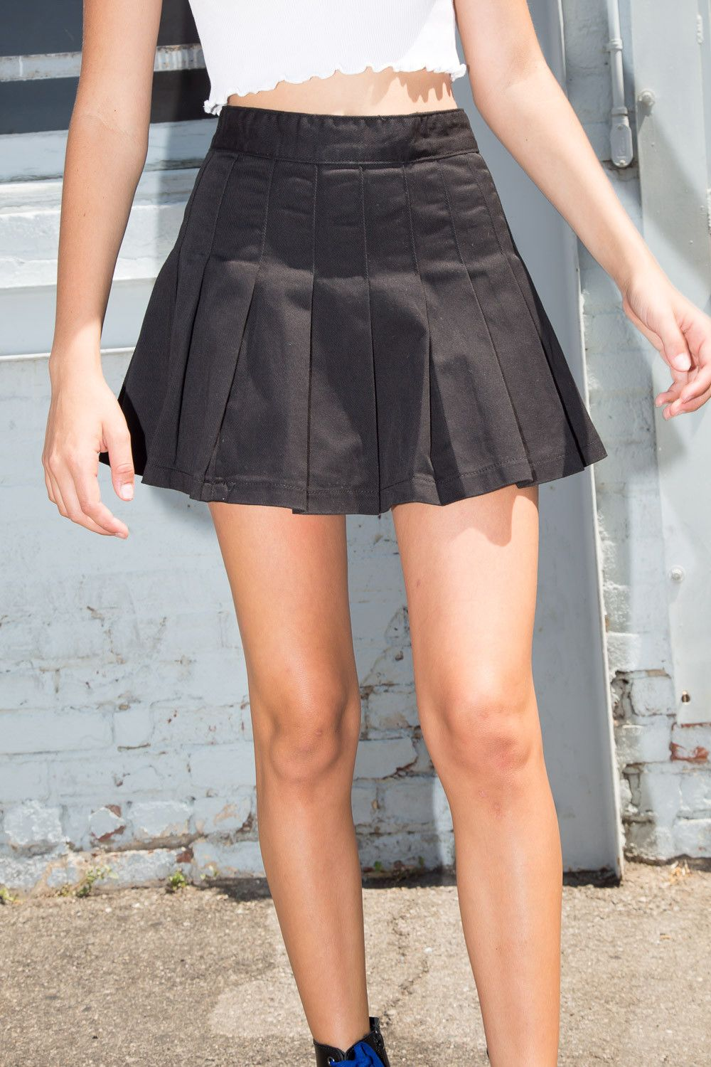 Skirts Bottoms Clothing In 2020 Tennis Skirt Outfit Pleated Skirt Outfit Short Pleated Tennis Skirt