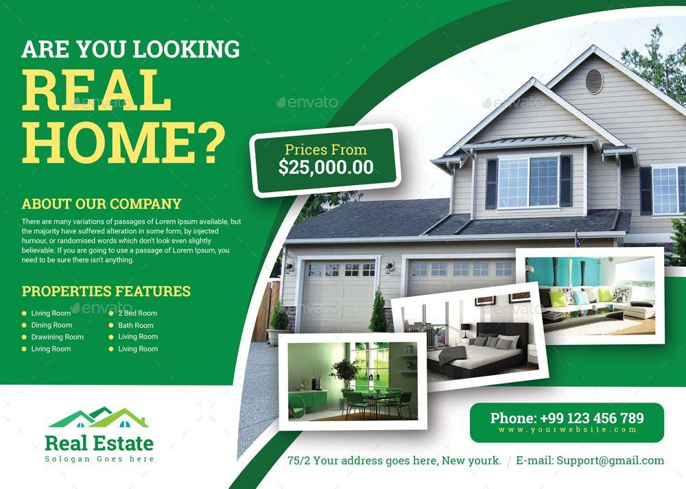 Real Estate Flyer In 2020 Real Estate Flyers Real Estate Real Estate Flyer Template