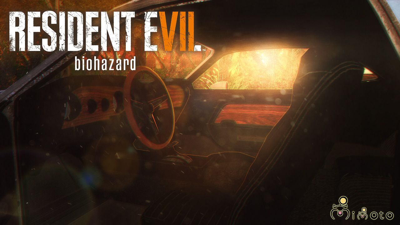 Mimoto Sims Resident Evil 7 Ethan Car Extracted By