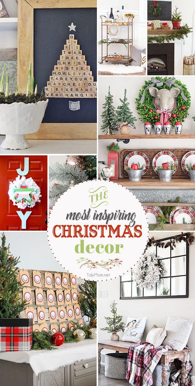 Christmas time Most Inspiring Christmas Decor of