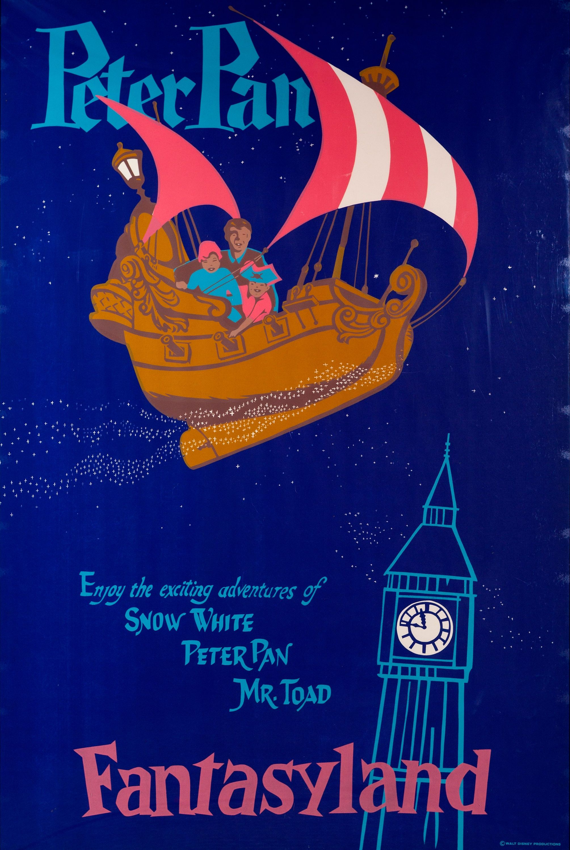 Vintage Disneyland Poster Frontierland Disney Posters Vintage Disneyland Disneyland Attractions