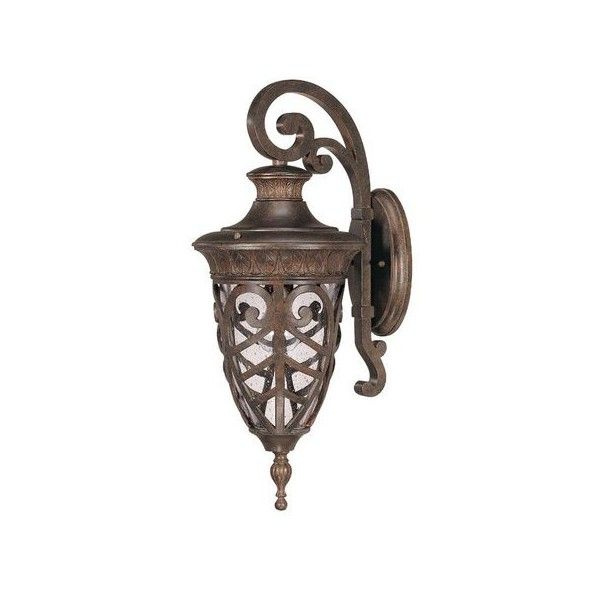 nuvo lighting 60 2054 single light down lighting outdoor wall sconce
