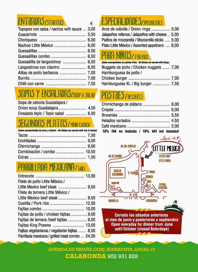 Resultado De Imagen De Restaurante Mexicano Palitos De