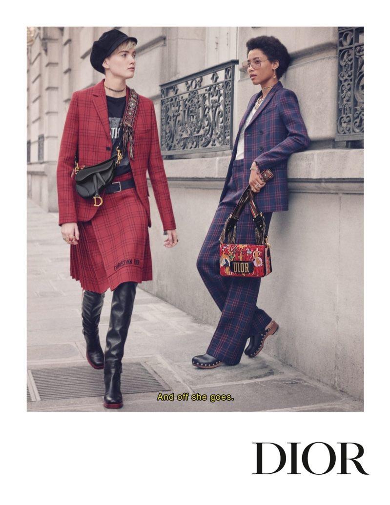 f45ed43c6e8 Dior focuses on tartan prints for fall-winter 2018 campaign