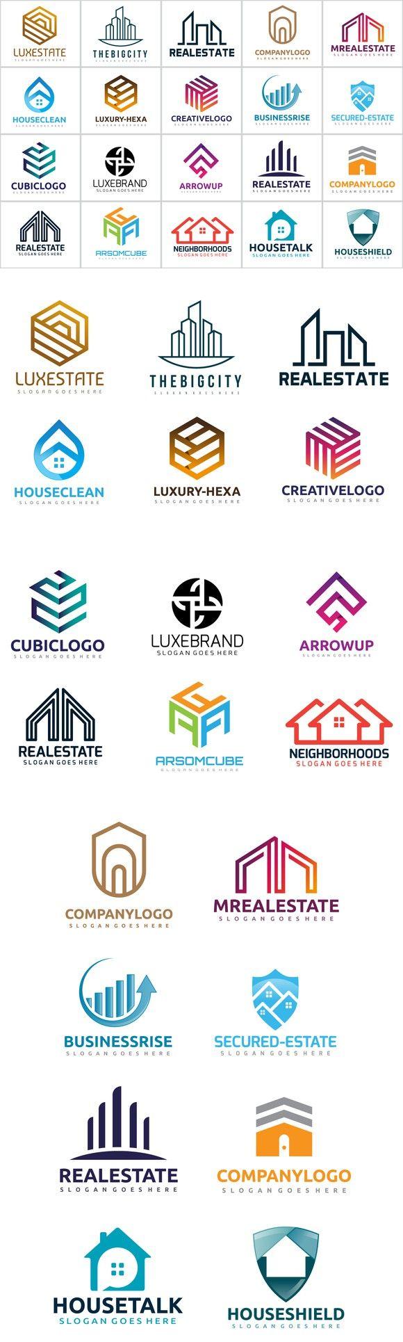 20 Real Estate & House Abstract Logo Abstract logo, Logo
