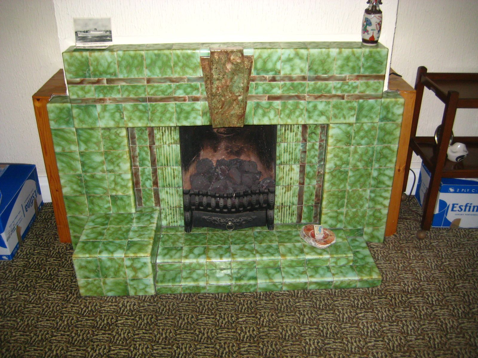 art deco fireplace | style and interiors | forum | mydeco | deco