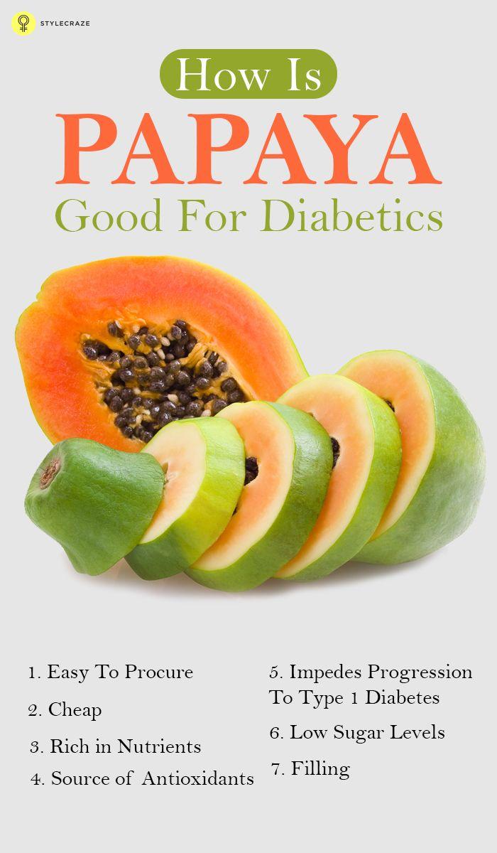 How Is Papaya Good For Diabetics? | Sugar alternatives ...