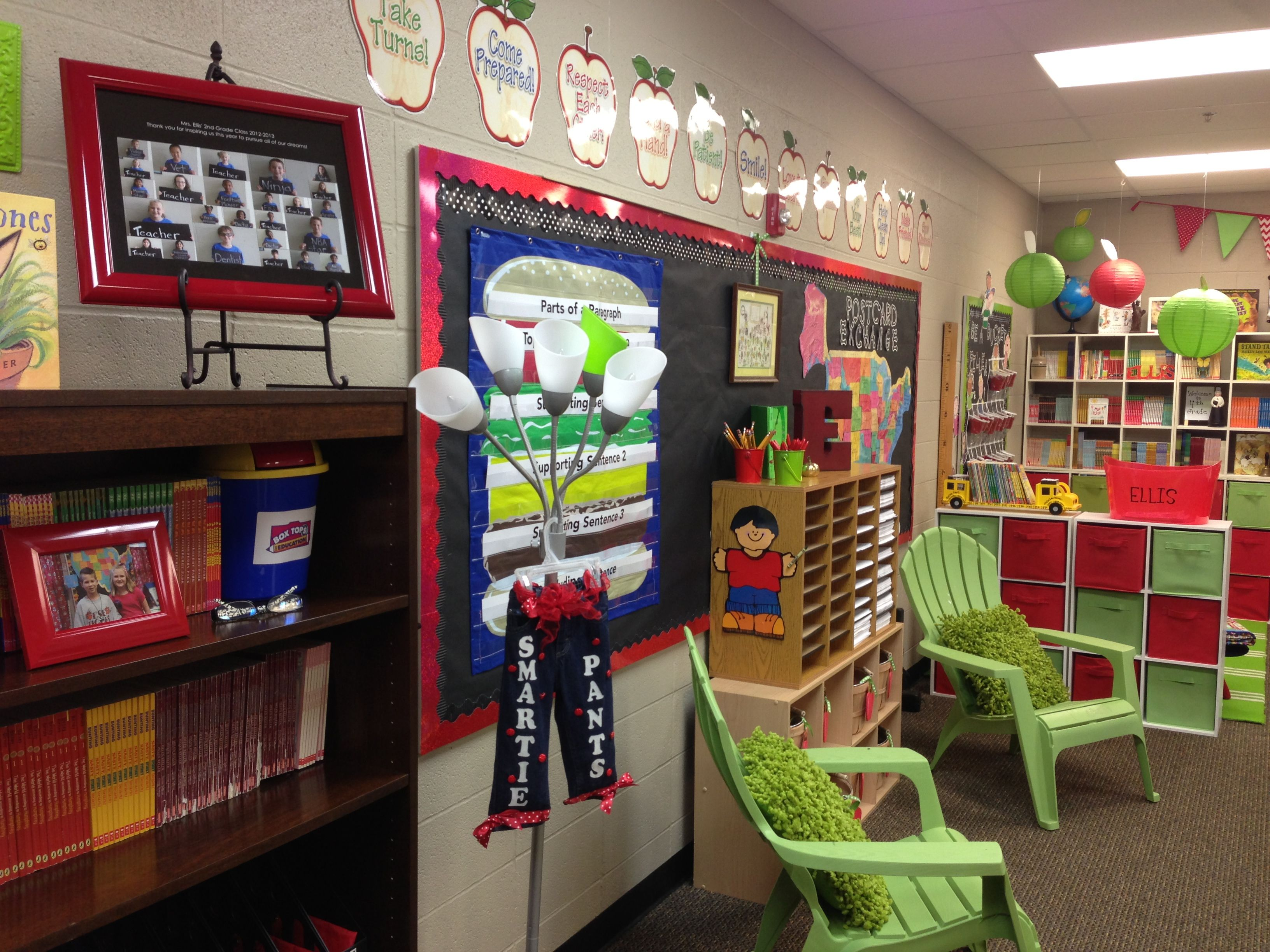 Conway Christian 4th Grade Apple Themed Classroom Schoolgirlstyle