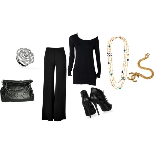 Basic Black, created by heatherstyle73.polyvore.com