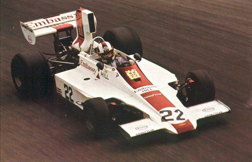 Rolf Stommelen, Hill-Ford GH1, 1975 Italian GP, Monza
